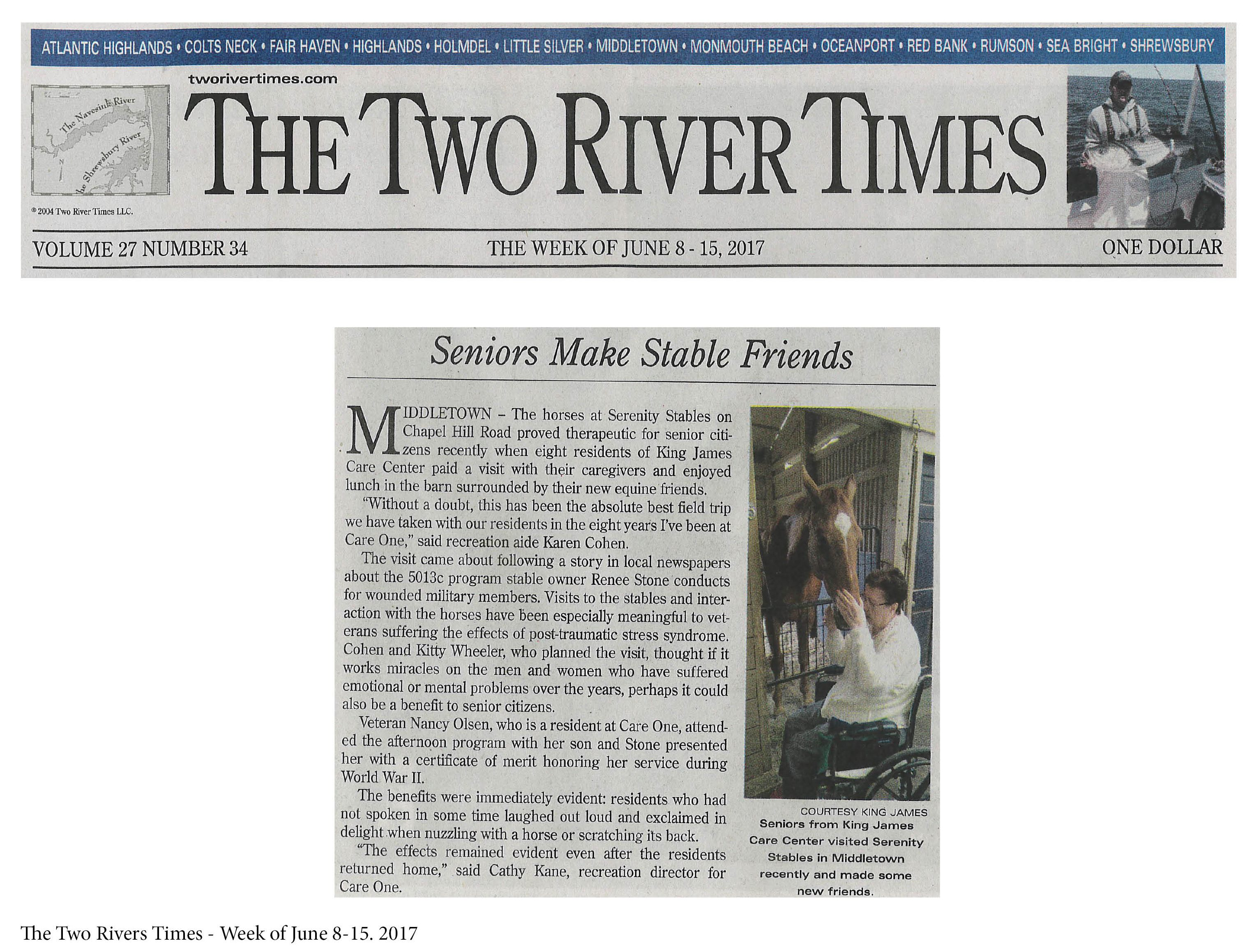 News: The Two River Times